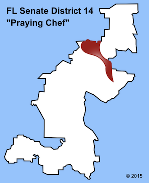 Praying Chef